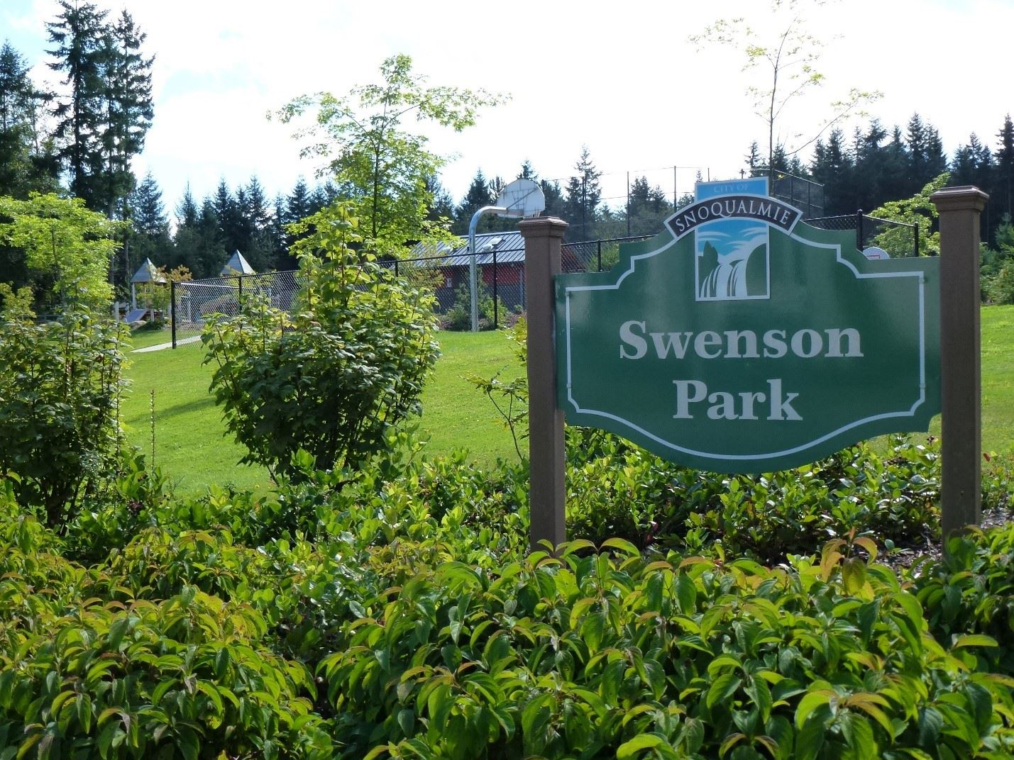 This is an image of Swenson Park.
