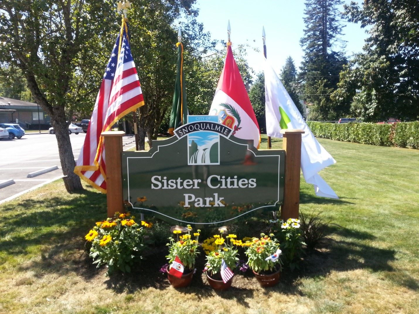 Sister Cities Park celebrates Snoqualmie's Sister City Relationships