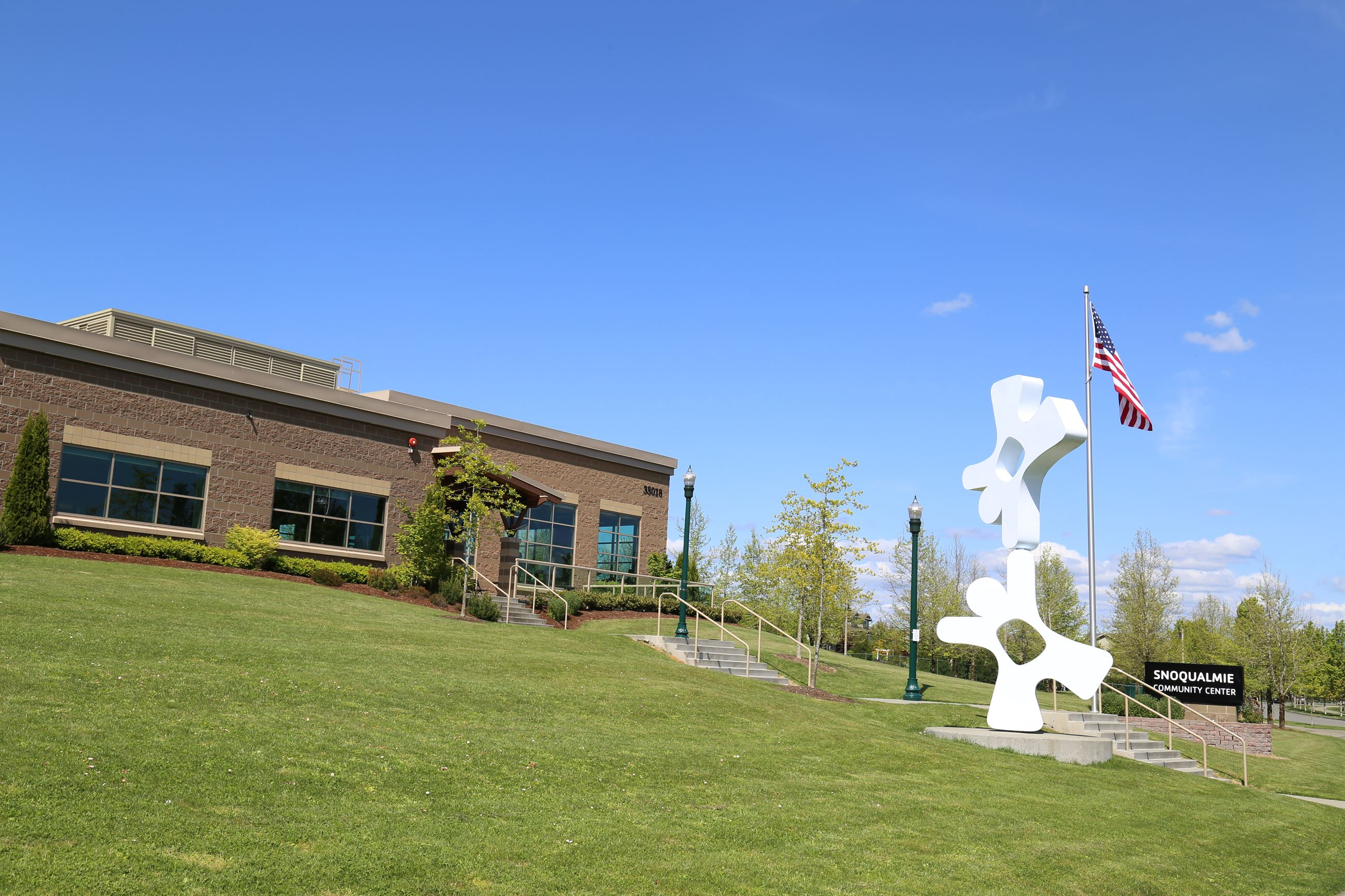 This is a photo of the Snoqualmie Valley YMCA.