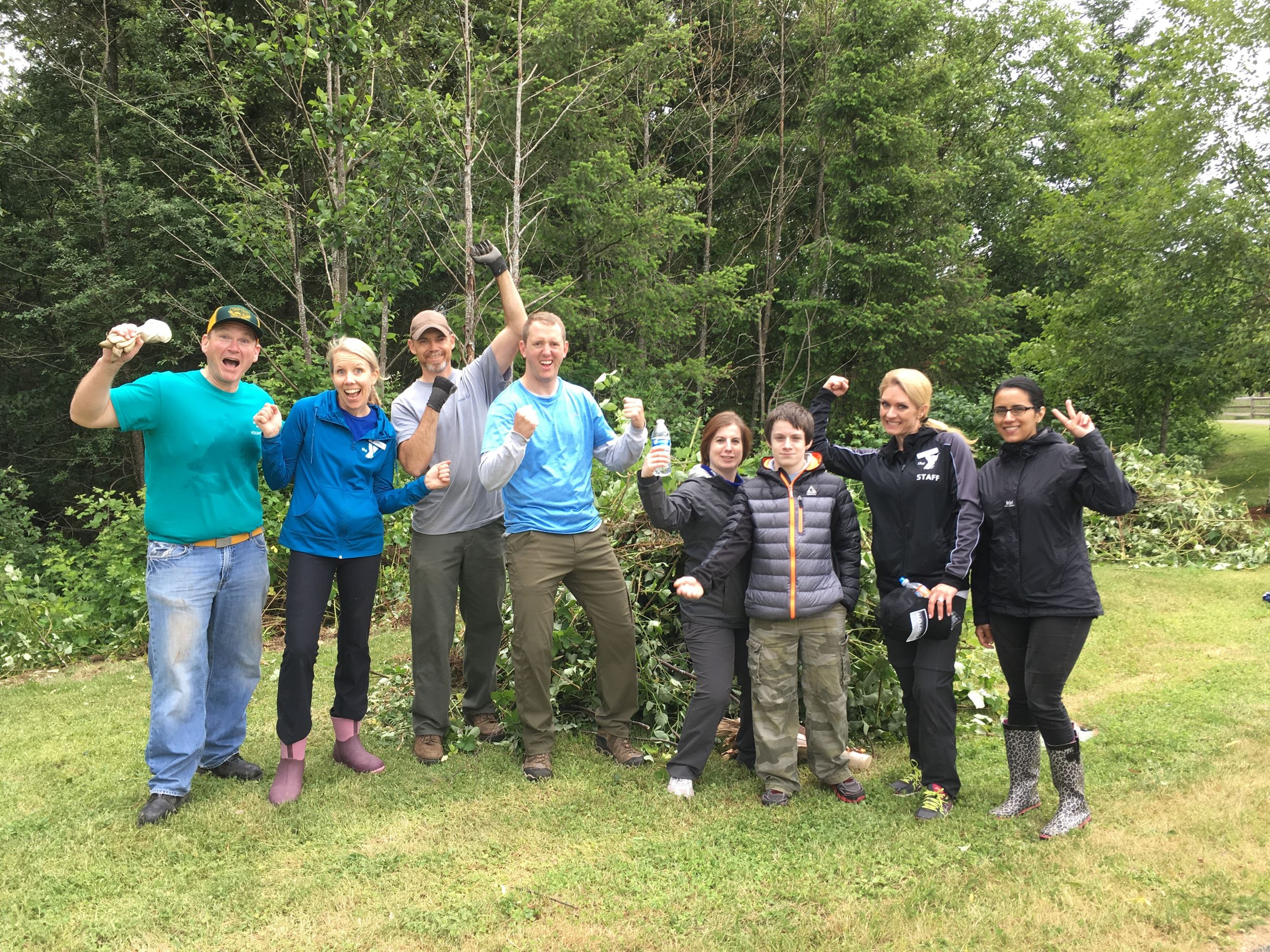 Stillwater Bog 06132017 Group excited