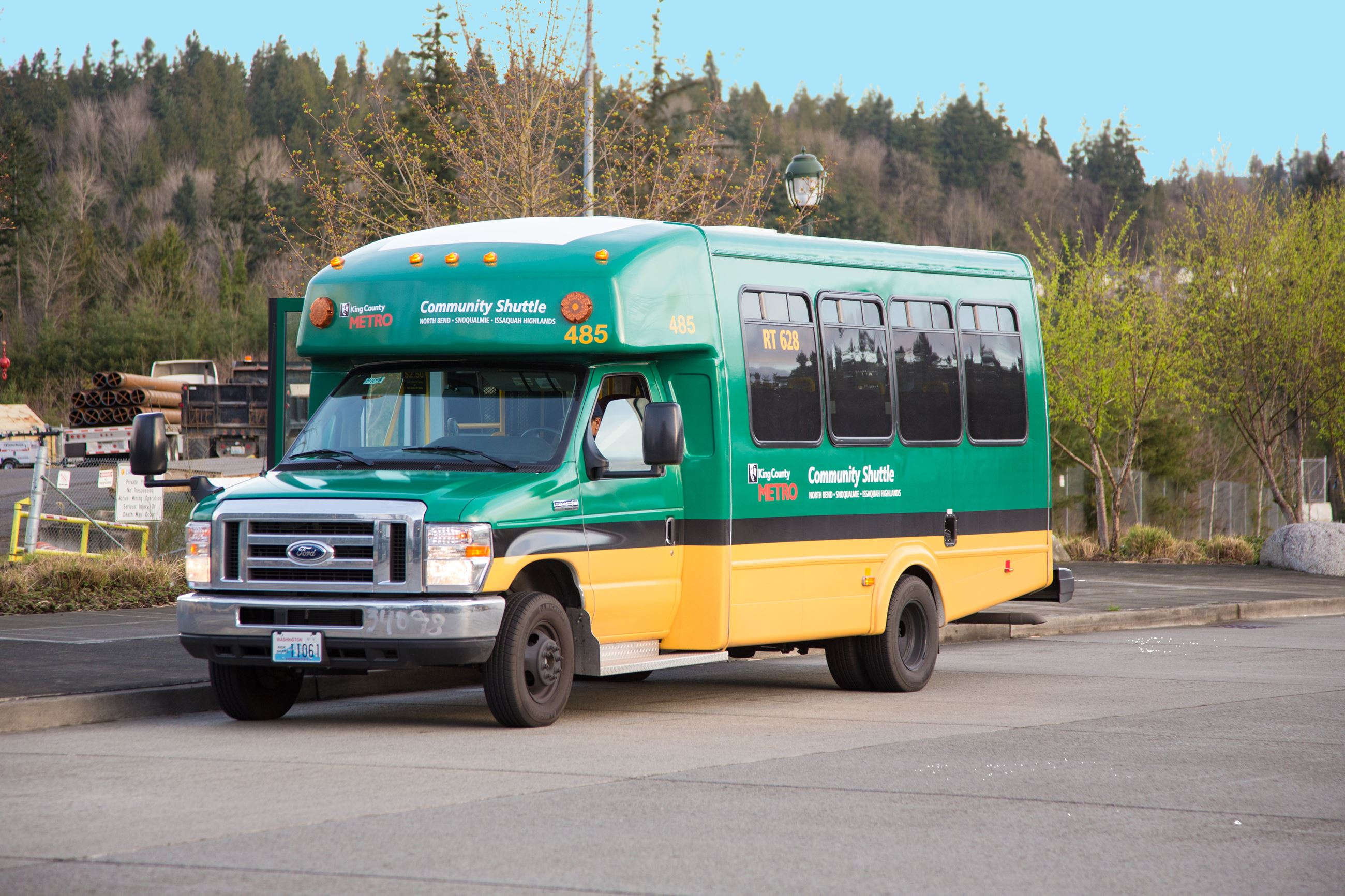 This is a picture of the Snoqualmie Valley Transportation Community Shuttle.