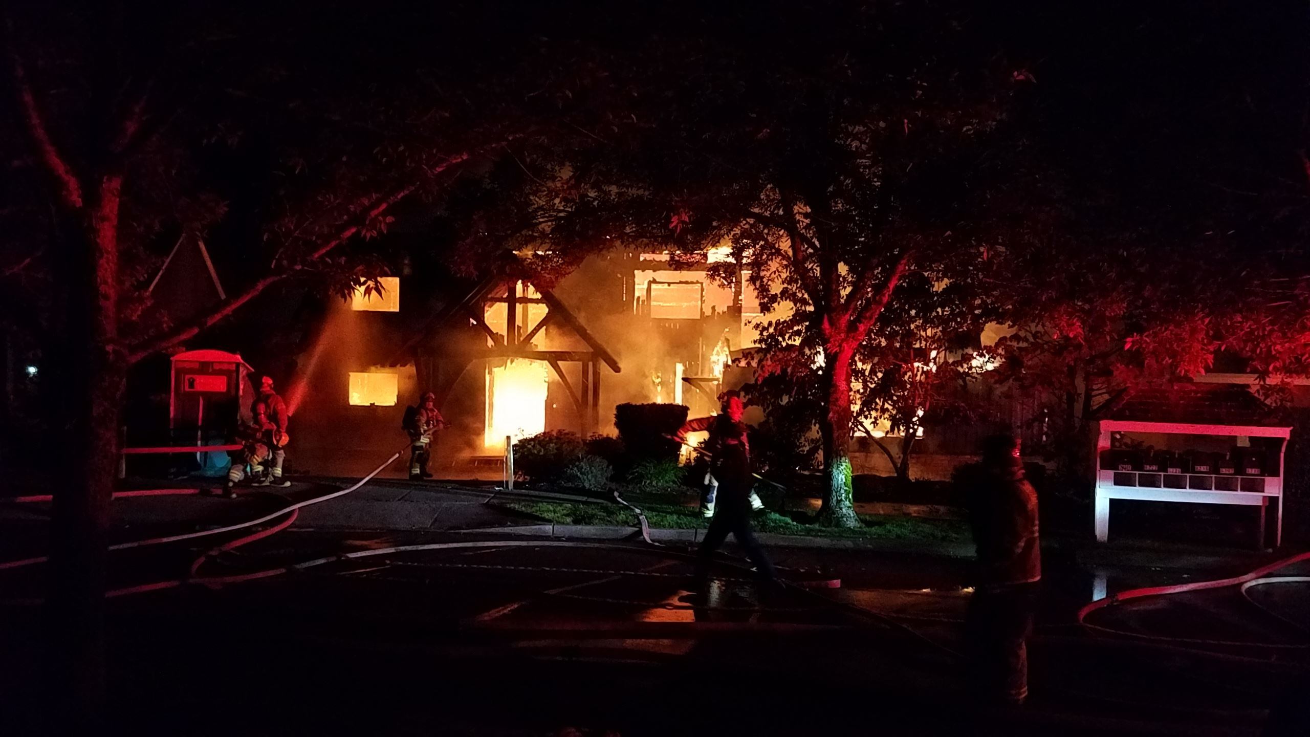 Fairway Place Fire