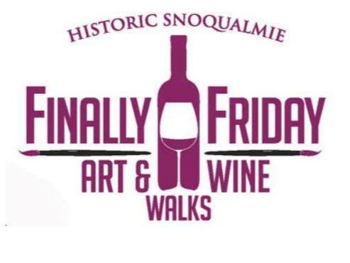 Finally Friday Art and Wine Walk Logo (JPG)